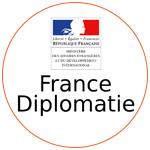 Le logo de France Diplomatie