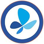 Le logo de la compagnie aérienne française French Blue