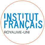 Le logo de l'Institut français du Royaume-Uni à Londres