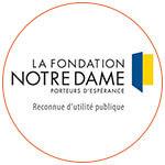 Le logo de la Fondation Notre-Dame