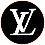 Le logo de Louis Vuitton, luxe France