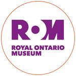 Le logo du Musée : Royal Ontario Museum