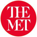 Le logo du Musée : THE MET à New-York