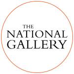 Le logo du Musée : The National Gallery à Londres