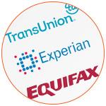 Logo des agences d'évaluation de crédit aux USA