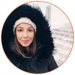 Portrait de Mathilde à Québec City au Canada