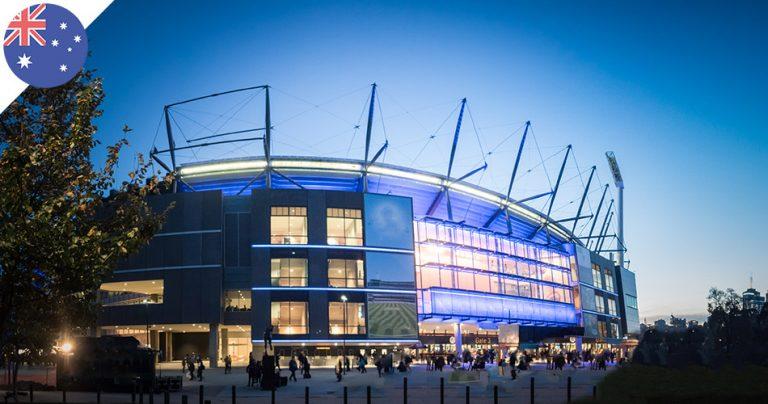 Stade à Melbourne sporintg district