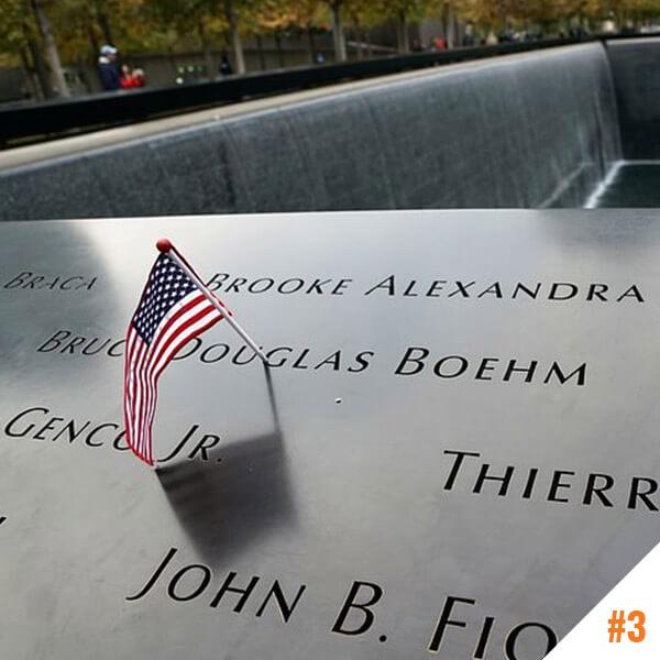 Memorial 9/11 à New York (USA)