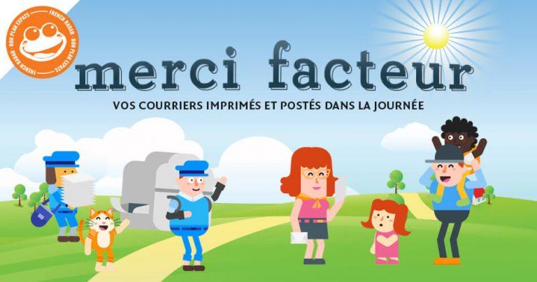 Bannière Merci Facteur sur French Radar - Bon Plan Expats