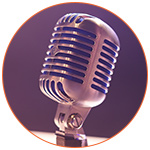 Microphone podcast interview expatriation