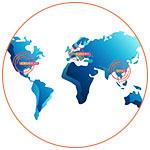 Carte du monde pour le Startup Tour 2019