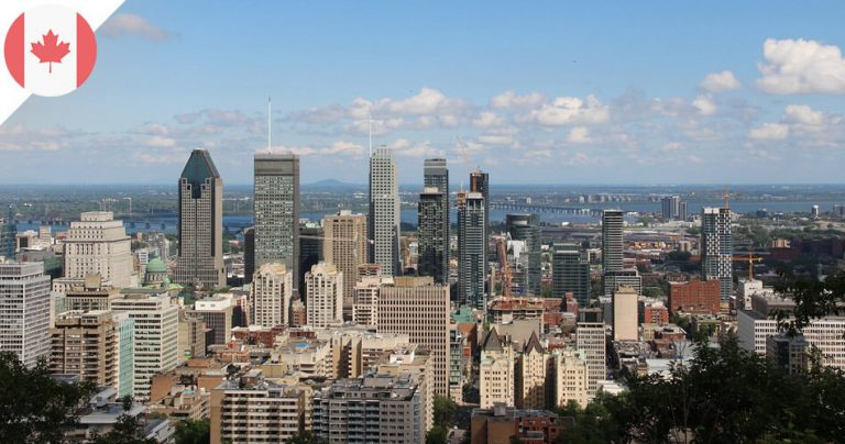 Ville de Montréal, au Québec (Canada)
