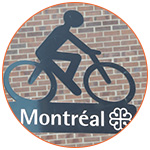 Signalisation cycliste dans la ville de Montréal