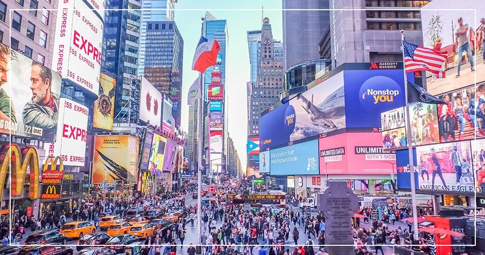 New York City, Time square