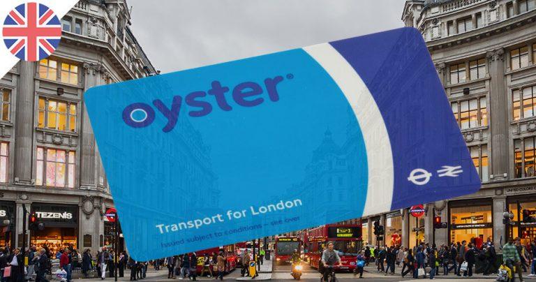 Carte de transport à Londres : Oyster Card