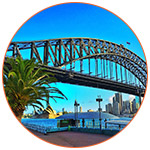 Le pont de Sydney (Australie)