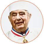 Le cuisinier français Paul Bocuse