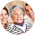 Aide au quotidien d'une personne âgée