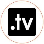 Picto noir et blanc TV