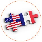 Pièces de puzzle : Etats-Unis et France