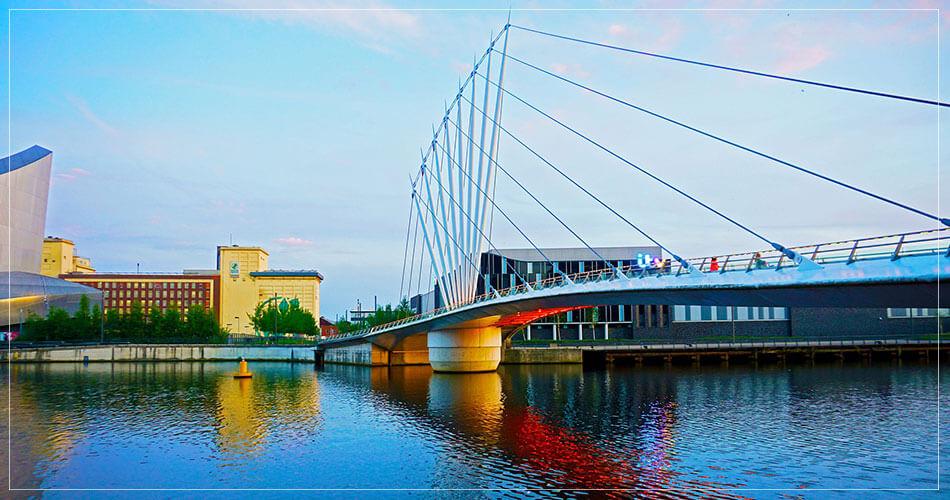 Pont à Manchester (UK)