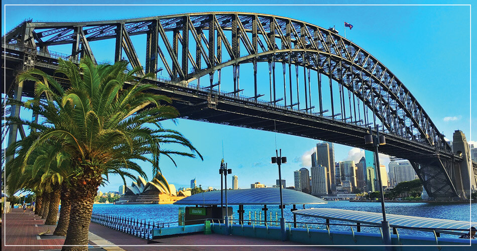 Pont Sydney Australie Opera House