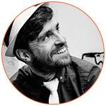 Portrait de Mikael Thiery - Co-director London Short Series Festival