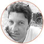 Portrait du journaliste français : William Irigoyen
