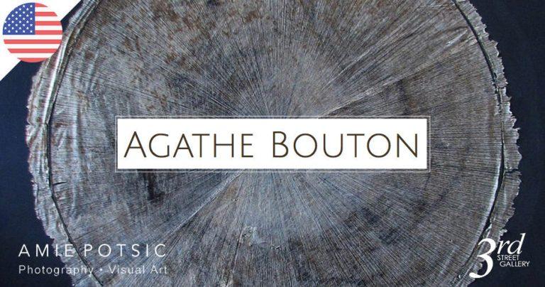 Affiche de l'exposition de l'Artiste peintre française : Agathe Bouton