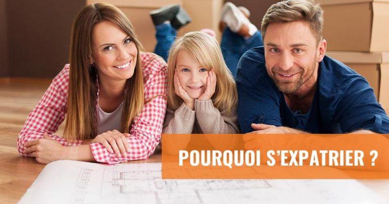 Famille de futurs expatriés francophones