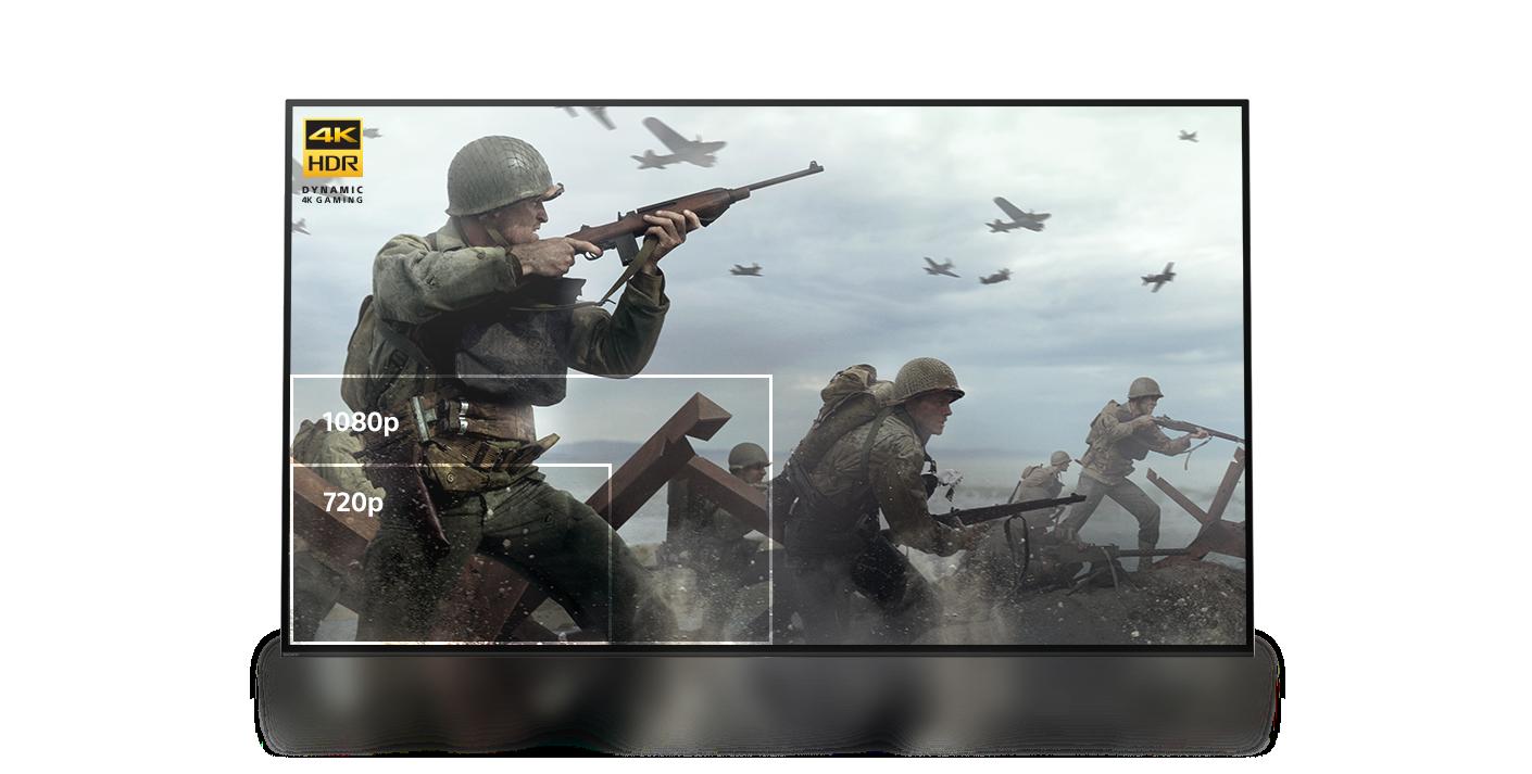 Exemple d'image au format dynamic 4K