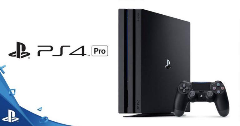 Présentation de la Playstation 4 Pro de Sony