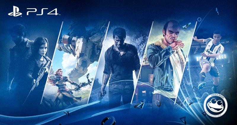 Le Top 5 des jeux PS4 par French Radar