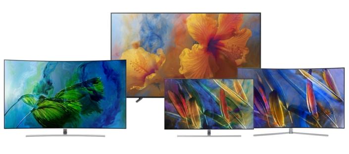La gamme des QLED TV de Samsung
