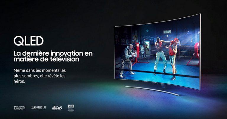 Présentation de la QLED TV