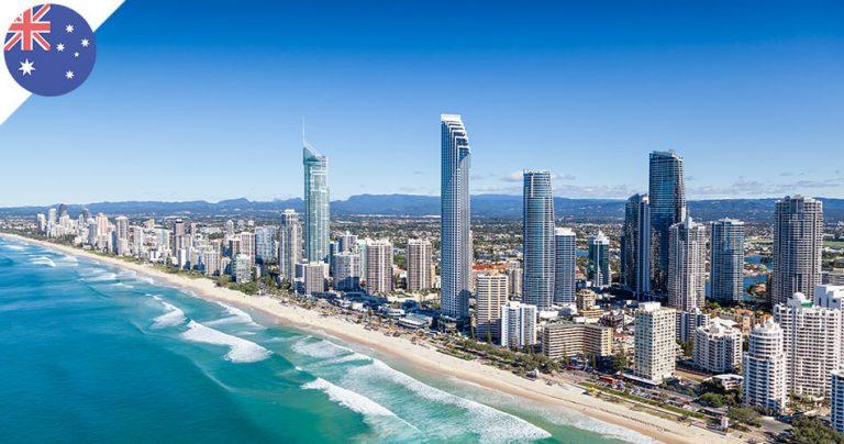 Magnifique paysage du Queensland sur la Gold Coast en Australie