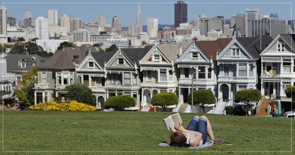 Vue sur les Painted Ladies à San Francisco (USA) - French Radar