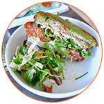 Sandwich français du restaurant Loupiotte Kitchen à Los Angeles