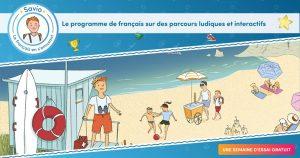 Savio, pour réviser le français en s'amusant