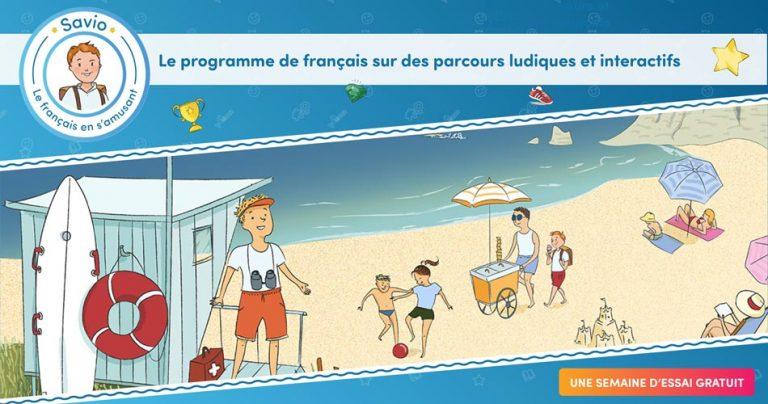 Savio, apprendre le français en s'amusant