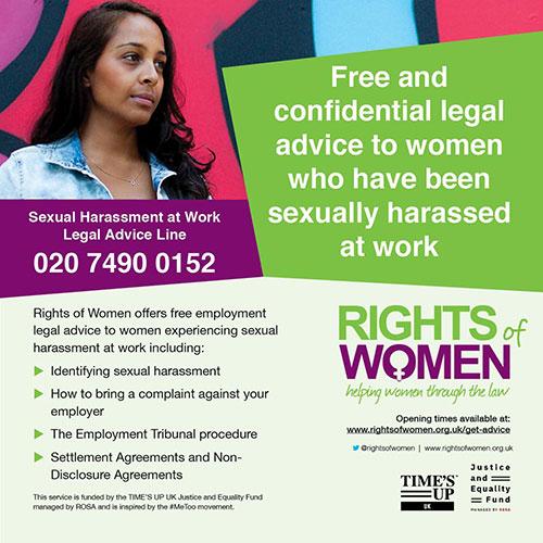 Campagne contre le harcèlement sexuel fait aux femmes au Royaume-Uni