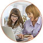 Shopping sur Internet pour mère et fille - French Radar