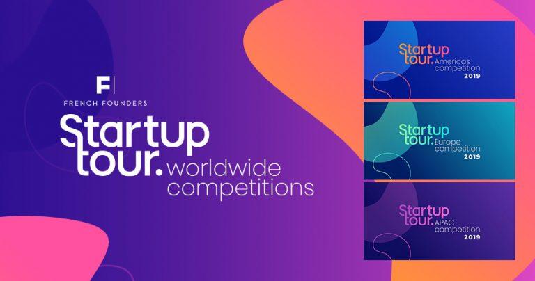 Bannière pour le Startup Tour 2019
