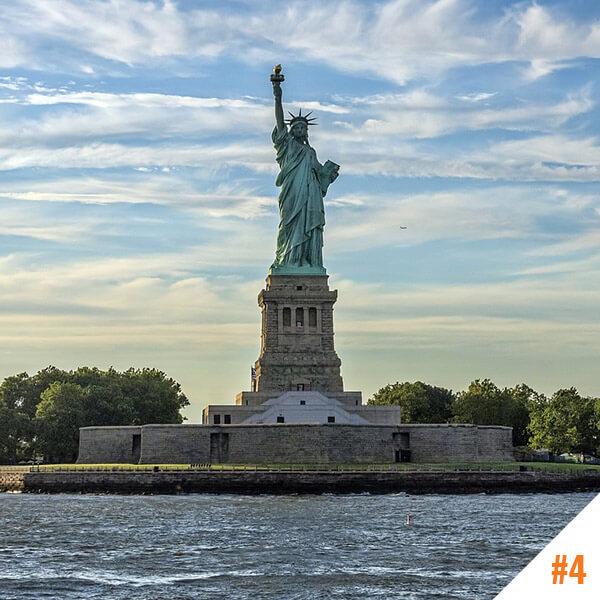 La Statue de la Liberté à New York (USA)