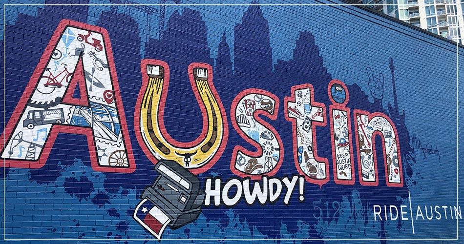Street art Austin, Texas, USA
