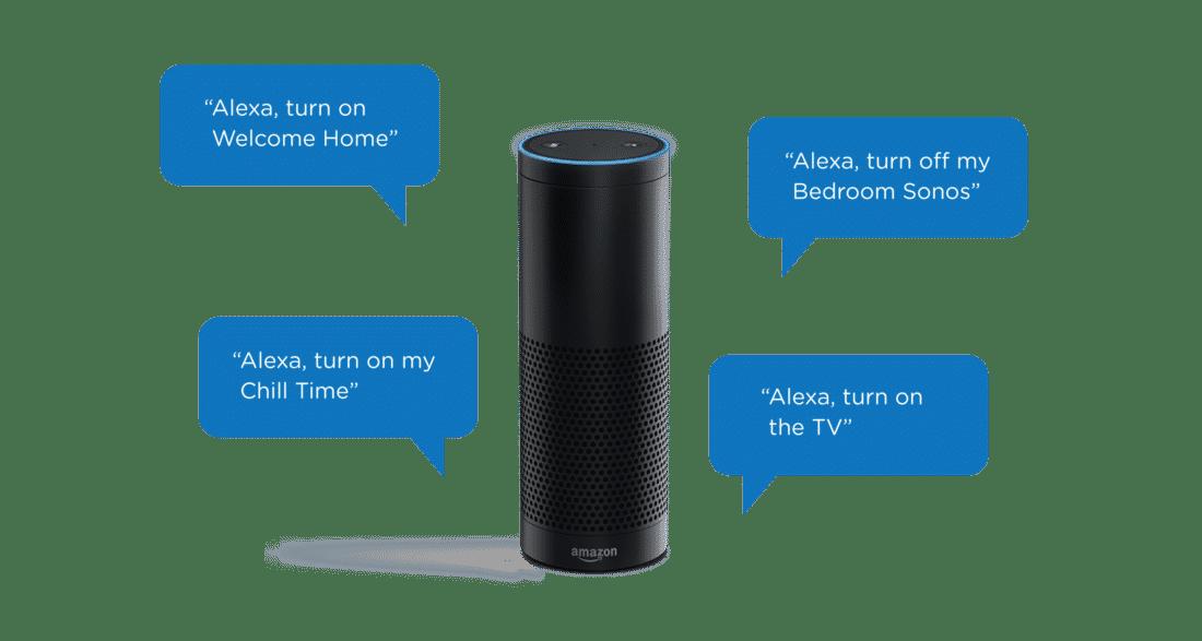 Illustration pour parler à Alexa