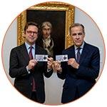 Lancement du billet 20£ au Tate Museum de Londres