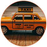 Taxi new-yorkais miniature