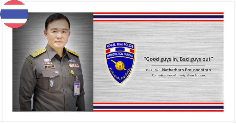 Officier de l'immigration Thaïlandaise - French Radar