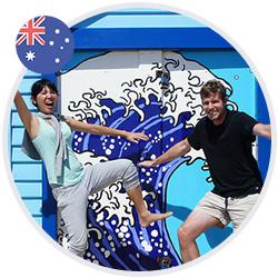 Tom et Amber surfent sur la vague à Sydney - Interview Expats French Radar